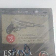 Cine: ESPAÑA EN LA MEMORIA DVD 33 LA GUERRILLA O EL BANDOLERISMO EL MAQUIS EN GALICIA. Lote 83352048
