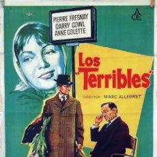 Cine: LOS TERRIBLES. CARTEL SOLIGÓ. CARTEL ORIGINAL 1960. 70X100. Lote 83411940
