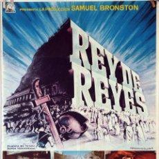 Cine: REY DE REYES. NICHOLAS RAY. CARTEL ORIGINAL 1961. 70X100. Lote 83518976