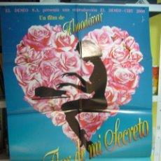 Cinéma: LA FLOR DE MI SECRETO ALMODOVAR POSTER ORIGINAL 70X100 Q. Lote 56001543