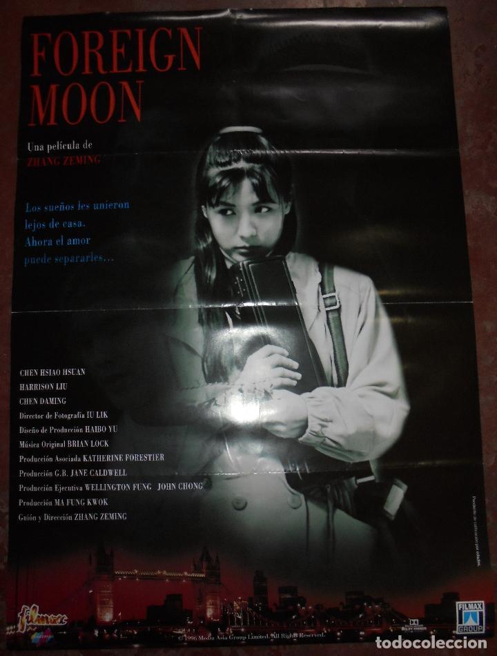 CARTEL DE CINE ORIGINAL. FOREIGN MOON. 93 X 67 CM. (Cine - Posters y Carteles - Terror)