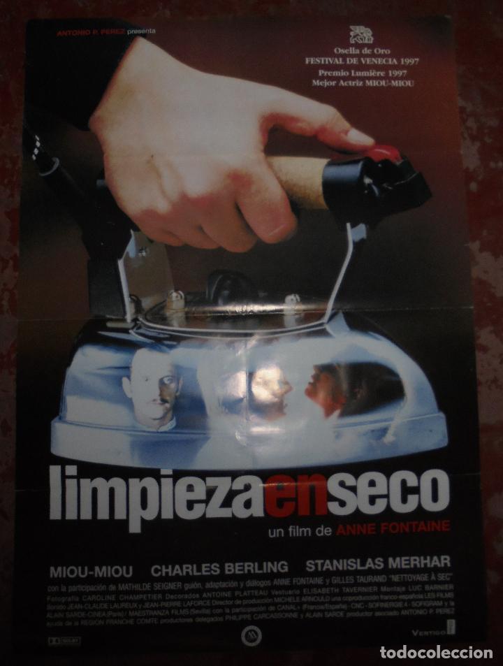 Cartel Original De Cine Limpieza En Seco 98 X Comprar Carteles Y
