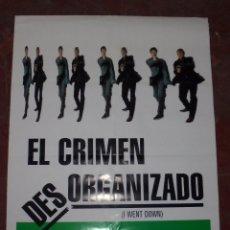 Cine: CARTEL ORIGINAL DE CINE. EL CRIMEN DESORGANIZADO. 98 X 68 CM.. Lote 84005708