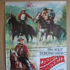Cine: CARTEL, POSTER DE CINE, ORIGINAL - LEGION FRONTERIZA AÑO 1968... R - 5613. Lote 84177992