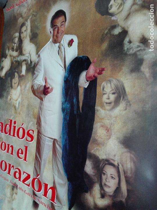 Cine: LOS LOTES DE LA CLANDESTINA - GRAN LOTE DE 4 POSTER DE CINE - ADIÓS CON EL CORAZÓN - 98 X 68 CM. - Foto 3 - 84276072