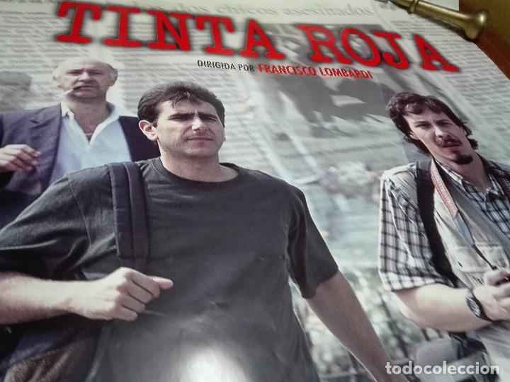 Cine: LOS LOTES DE LA CLANDESTINA - GRAN LOTE DE 5 POSTER DE CINE - TINTA ROJA - 98 X 68 CM. - Foto 3 - 84276504