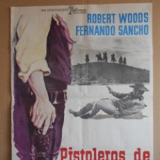 Cine: CARTEL, POSTER DE CINE, ORIGINAL - PISTOLEROS DE ARIZONA - WESTERN ESPAÑOLA - AÑO 1974... R - 5623. Lote 84292076