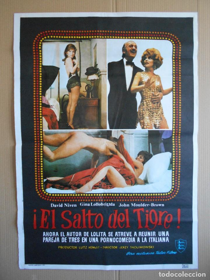 CARTEL, POSTER DE CINE, ORIGINAL - EL SALTO DEL TIGRE - AÑO 1977... R - 5642 segunda mano