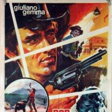 Cine: POR TECHO LAS ESTRELLAS. GIULIANP GEMMA. CARTEL ORIGINAL 1969. 70X100. Lote 84411508
