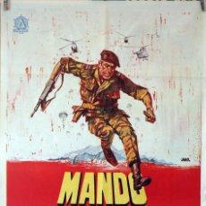 Cine: MANDO PERDIDO. ANTHONY QUINN-ALAIN DELON-CLAUDIA CARDINALE. CARTEL ORIGINAL 1967. 70X100. Lote 84529928