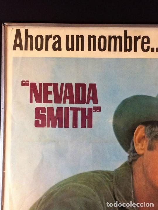 Cine: NEVADA SMITH. CARTEL. BARCELONA. LITOCLUB BARCELONA. CIRCA 1966 - Foto 4 - 84597848