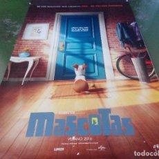 Cine: MASCOTAS - APROX 120X210 LONA/BANNER ORIGINAL CINE (X15). Lote 84633440