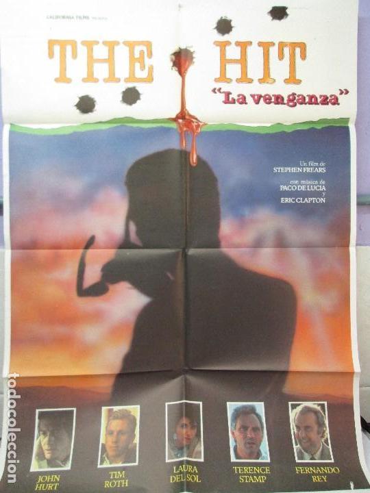 Cine: CARTEL DE CINE. THE HIT. LA VENGANZA.CALIFORNIA FILMS. 70 X 100 CM. VER FOTOGRAFIAS ADJUNTAS - Foto 5 - 84735264