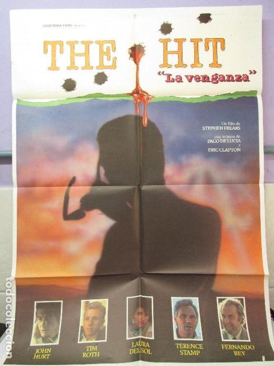 CARTEL DE CINE. THE HIT. LA VENGANZA.CALIFORNIA FILMS. 70 X 100 CM. VER FOTOGRAFIAS ADJUNTAS (Cine - Posters y Carteles - Terror)