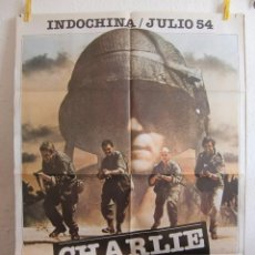 Cine: CARTEL CINE ORIG CHARLIE BRAVO (1980) 70X100 / BRUNO PRADAL. Lote 84971252