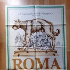 Cine: -POSTER DE LA PELICULA--ROMA DE FEDERICO FELLINI. Lote 85057172