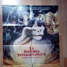 Cine: B-POSTER DE LA PELICULA--LA HISTORIA INTERMINABLE 2. Lote 85058412