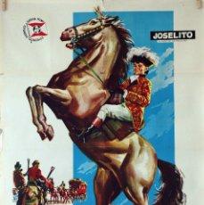 Cine: EL PEQUEÑO CORONEL. JOSELITO-ANTONIO DEL AMO. CARTEL ORIGINAL 1960. 70X100. Lote 85102752