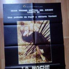 Cine: B-POSTER MAS LA GUIA DE LA PELICULA--LA NOCHE DE SAN LORENZO. Lote 85344908