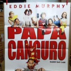 Cine: PAPA CANGURO. 70X100. EDDIE MURPHY, JEFF GARLIN. DIR STEVE CARR. Lote 288368283