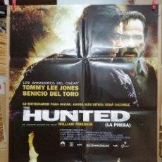 Cine: HUNTED, CARTEL DE CINE ORIGINAL 70X100. Lote 288368333