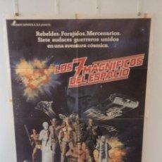 Cine: LOS 7 MAGNÍFICOS DEL ESPACIO - JOHN SAXON - GEORGE PEPPARD - DIRECTOR JIMMY T. MURAKAMI. Lote 85724956