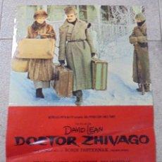Cine: CARTEL PEQUEÑO ORIGINAL DE LA PELÍCULA DOCTOR ZHIVAGO. 48 X 33 CM. Lote 86001588