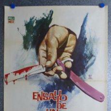 Cine: ENSAYO DE UN CRIMEN - LUIS BUÑUEL - ILUSTR: MONTALBAN - AÑO 1965. Lote 86221204