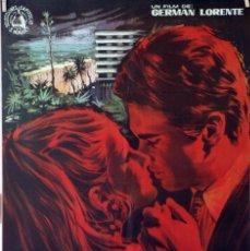Cine: UN DÍA DESPUÉS DE AGOSTO. GERMÁN LORENTE. CARTEL ORIGINAL 1967. Lote 86443672