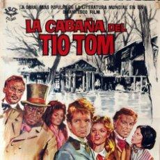 Cine: LA CABÑA DEL TÍO TOM. CARTEL ORIGINAL 1962. 70X100. Lote 86444300
