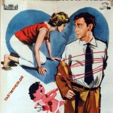 Cine: CUPIDO CONTRABANDISTA. ANTONIO OZORES-MARÍA MAHOR. CARTEL ORIGINAL 1962. 70X100. Lote 86444792