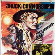 Cine: NOCHE DE VIOLENCIA. CARTEL ORIGINAL 1966. 70X100. Lote 86569180