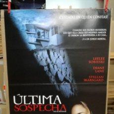 Cine: ULTIMA SOSPECHA.CARTEL ORIGINAL 100X70 CM. Lote 86657028