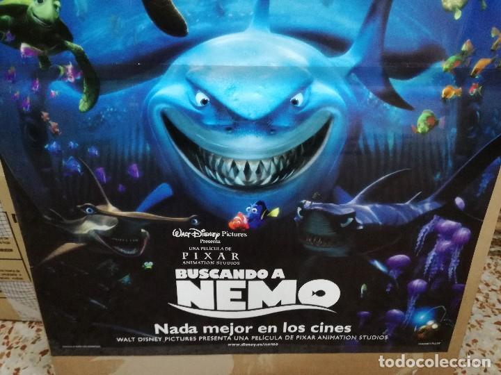 Cine: BUSCANDO A NEMO - APROX 70X100 CARTEL ORIGINAL - Foto 2 - 86659352