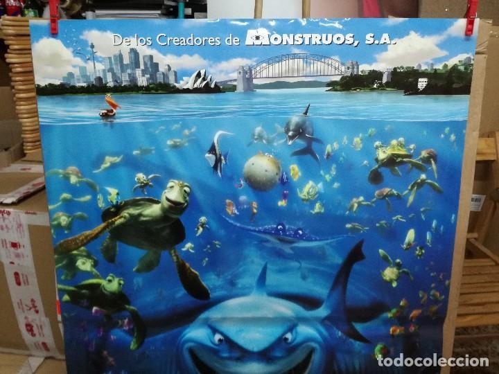 Cine: BUSCANDO A NEMO - APROX 70X100 CARTEL ORIGINAL - Foto 3 - 86659352