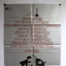 Cine: DE MAO A MOZART 1979. CARTEL ORIGINAL DE LA PELICULA 70 X 100 CMS. Lote 86813412