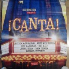 Cine: CANTA - APROX 70X100 CARTEL ORIGINAL CINE (L40). Lote 87082756