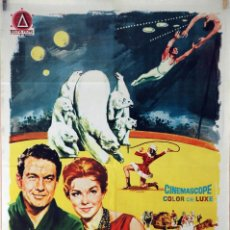 Cine: EL GRAN ESPECTÁCULO. ESTHER WILLIAMS-CLIFF ROBERTSON. CARTEL ORIGINAL 1963. 70X100. Lote 87601648