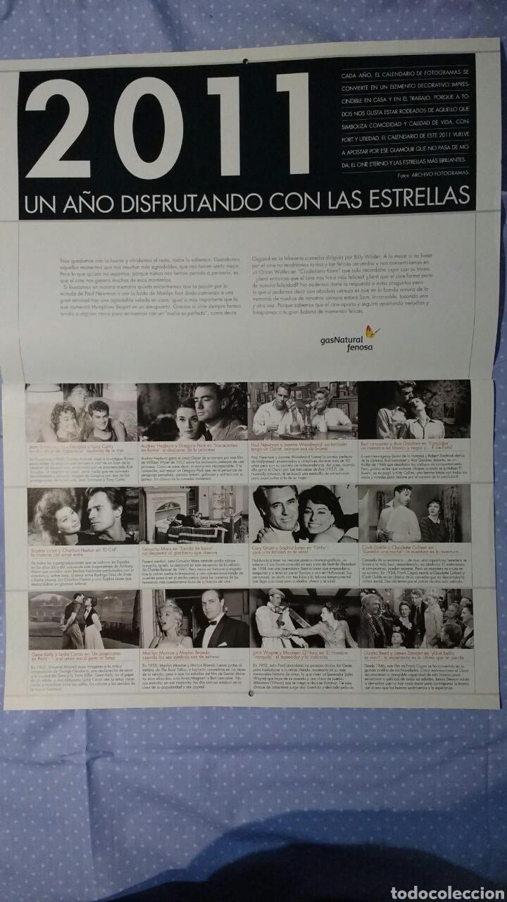 Cine: Precioso calendario FOTOGRAMAS. Año 2011 - Foto 2 - 87685372