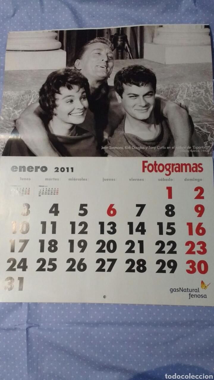 Cine: Precioso calendario FOTOGRAMAS. Año 2011 - Foto 3 - 87685372