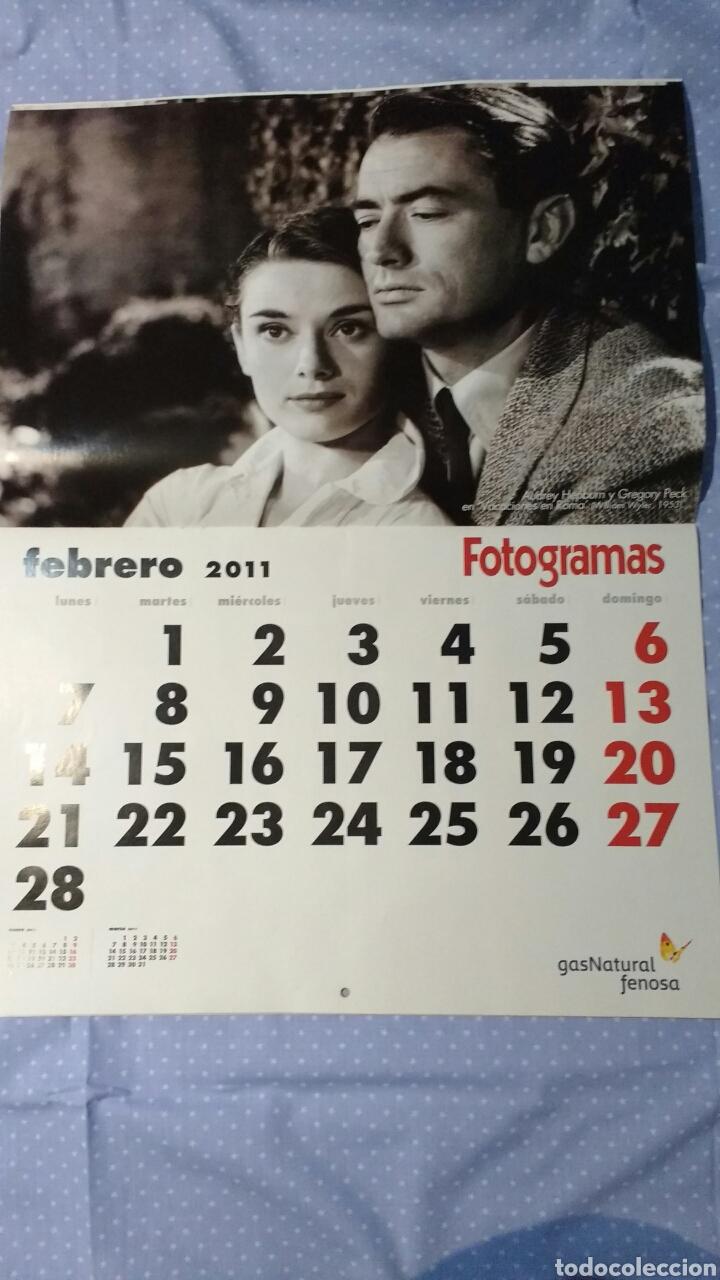 Cine: Precioso calendario FOTOGRAMAS. Año 2011 - Foto 4 - 87685372