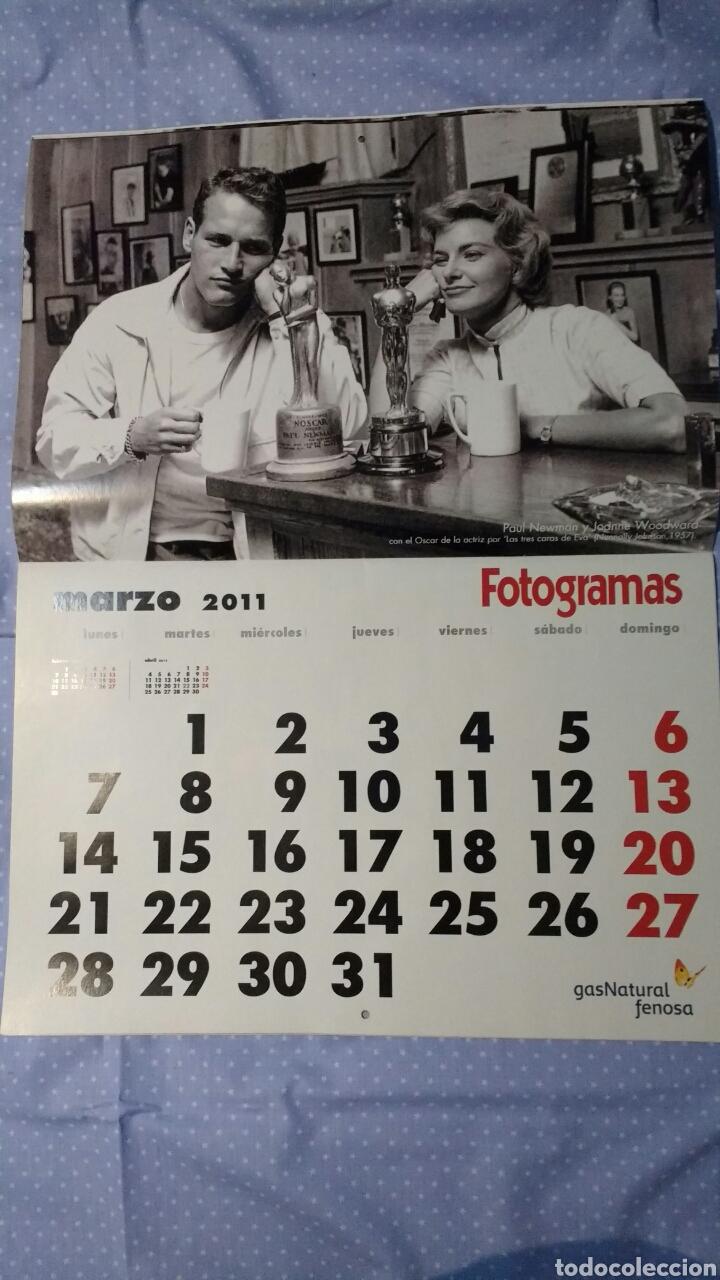Cine: Precioso calendario FOTOGRAMAS. Año 2011 - Foto 5 - 87685372