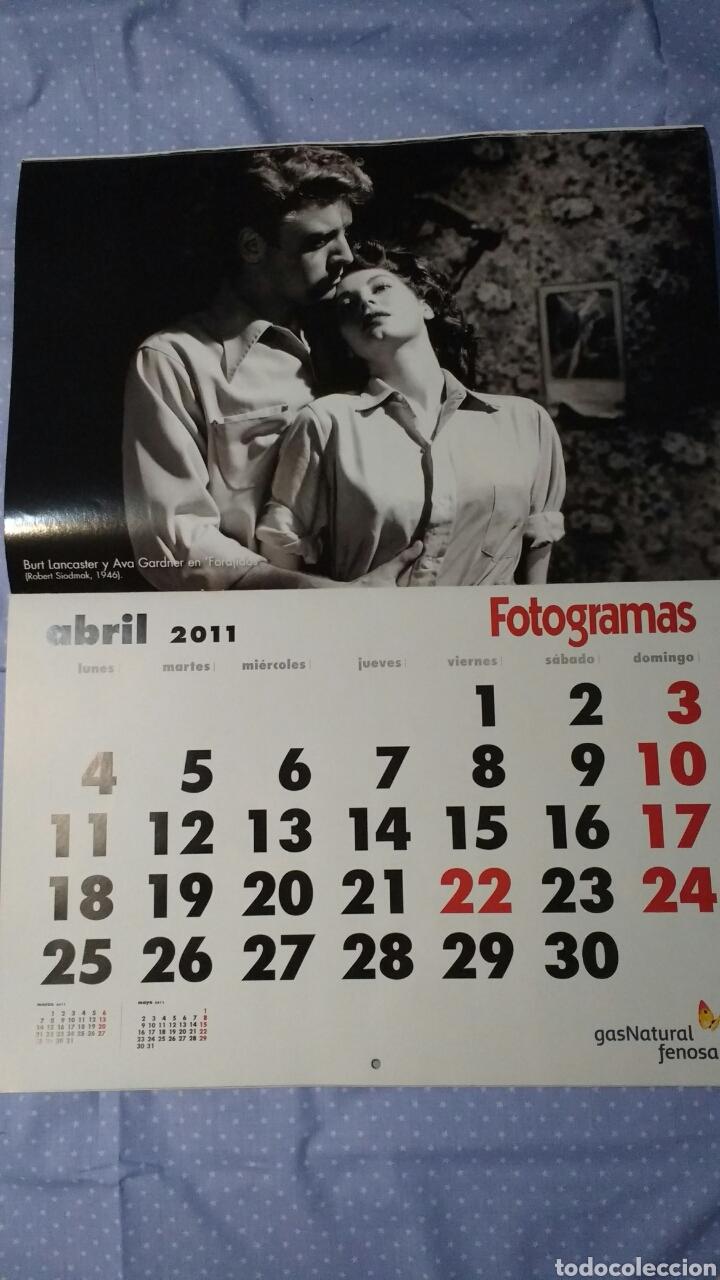 Cine: Precioso calendario FOTOGRAMAS. Año 2011 - Foto 6 - 87685372