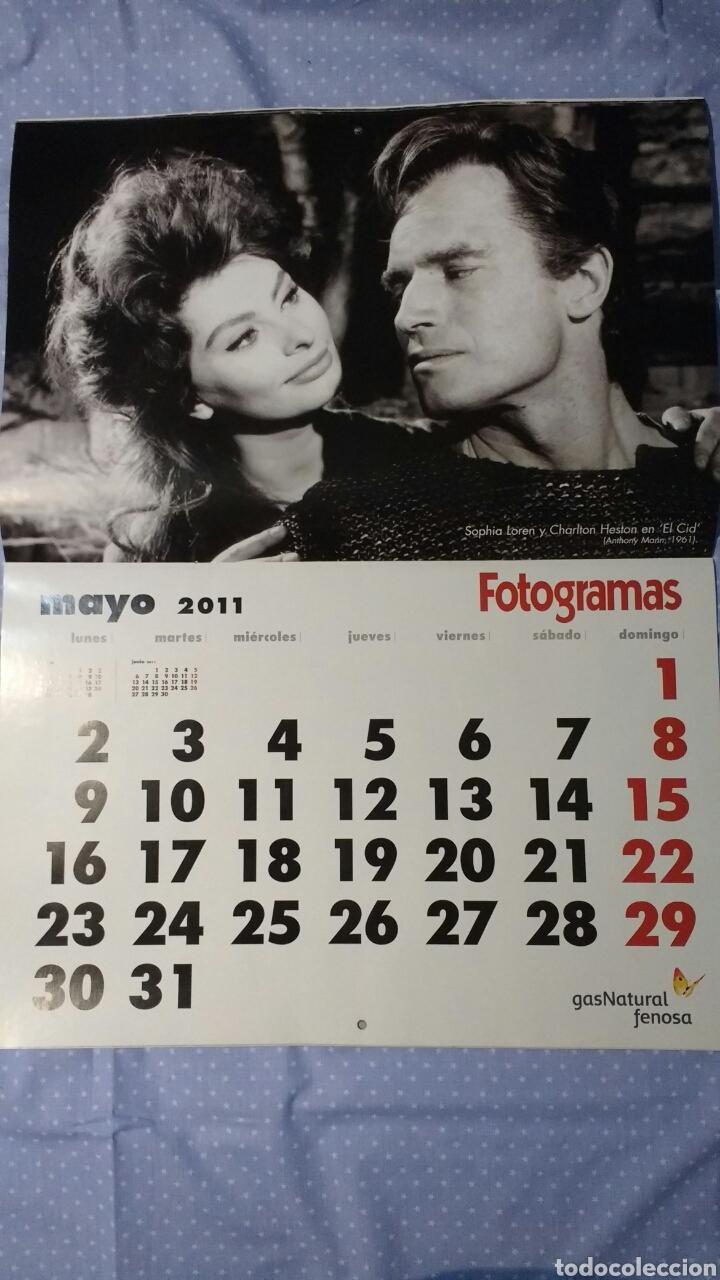 Cine: Precioso calendario FOTOGRAMAS. Año 2011 - Foto 7 - 87685372