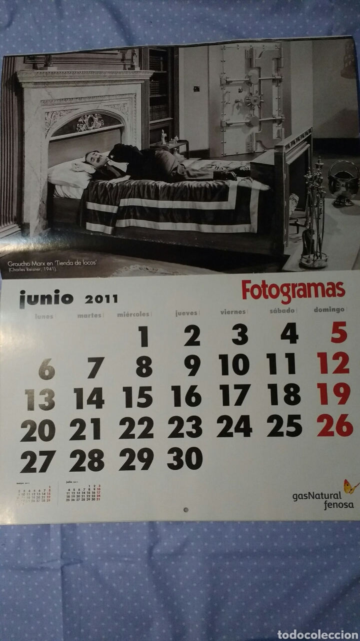 Cine: Precioso calendario FOTOGRAMAS. Año 2011 - Foto 8 - 87685372