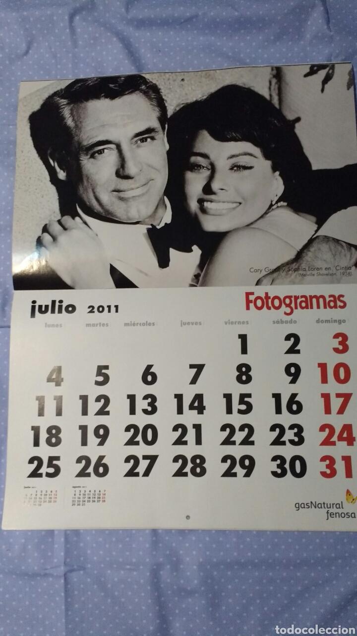 Cine: Precioso calendario FOTOGRAMAS. Año 2011 - Foto 9 - 87685372