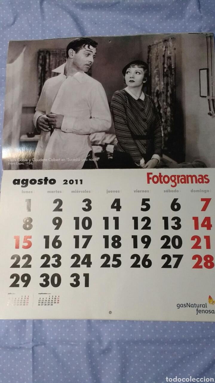 Cine: Precioso calendario FOTOGRAMAS. Año 2011 - Foto 10 - 87685372