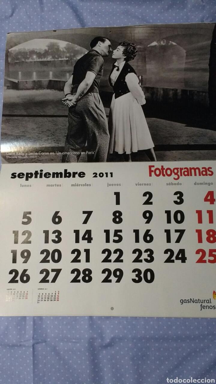Cine: Precioso calendario FOTOGRAMAS. Año 2011 - Foto 11 - 87685372