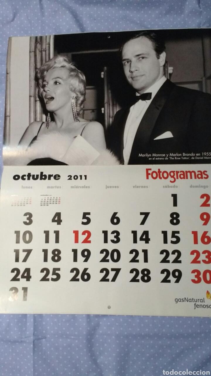 Cine: Precioso calendario FOTOGRAMAS. Año 2011 - Foto 12 - 87685372