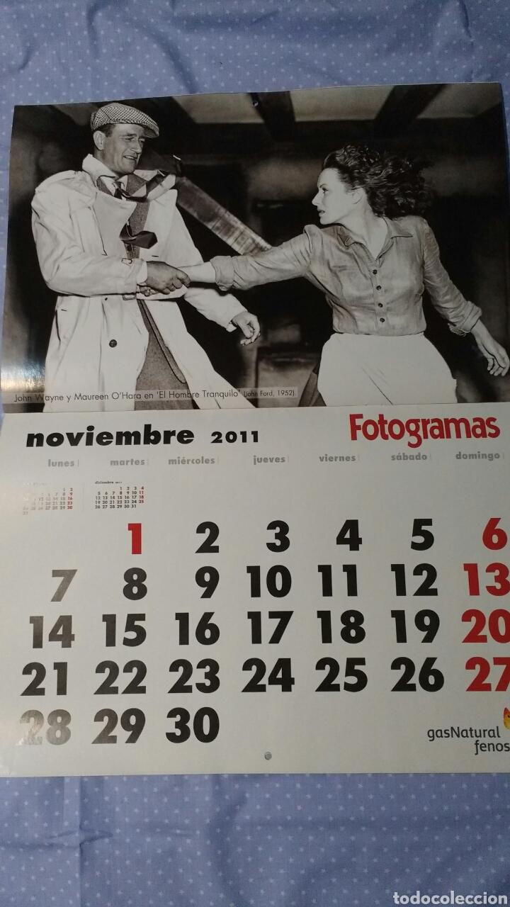 Cine: Precioso calendario FOTOGRAMAS. Año 2011 - Foto 13 - 87685372